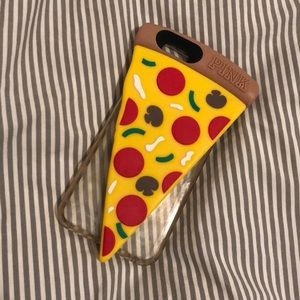 VS Pink Pizza iPhone 6, 7, or 8 case